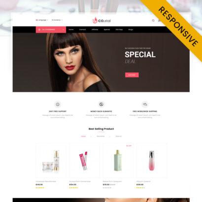 Costal - Beauty Store OpenCart Theme
