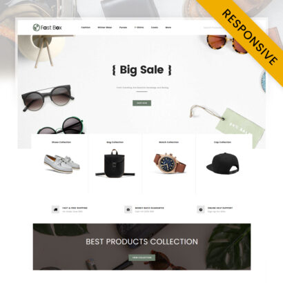 Fast Box - Accessories Store OpenCart Theme