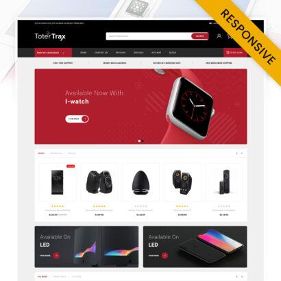 Totertrax Electronics Store OpenCart Theme
