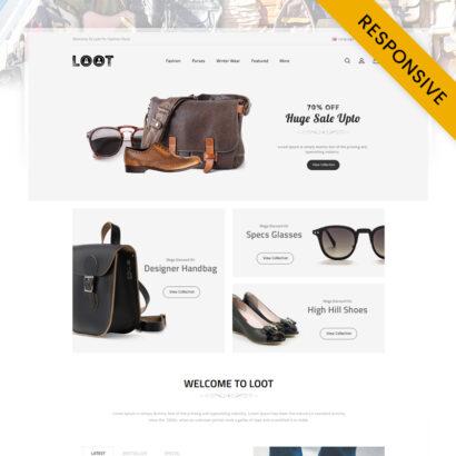 LOOT - Fashion Store OpenCart Theme