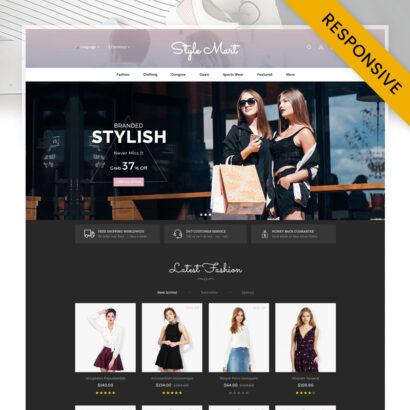 StyleMart - Fashion Store OpenCart Theme