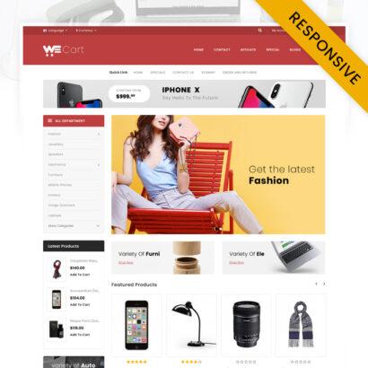 Wecart - Multipurpose Store OpenCart Theme