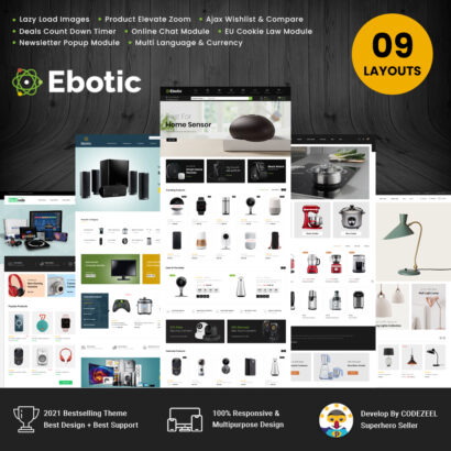 Ebotic – Multipurpose Online Prestashop Theme