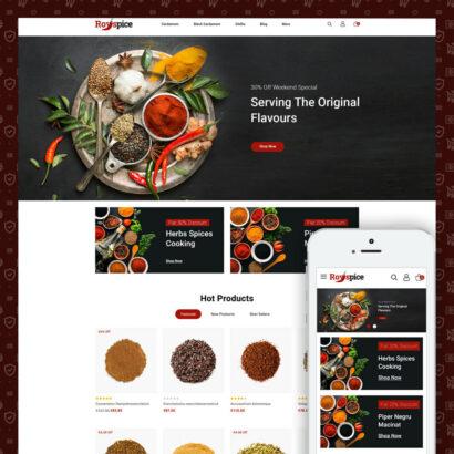 Royspice - Online Spice Store Prestashop Theme