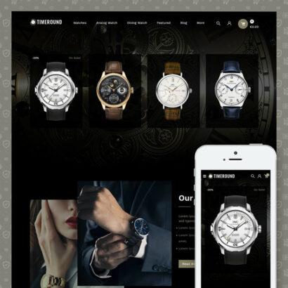TimeRound - Watch Store Prestashop Theme