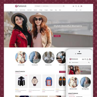 Fashionclo - Minimal Fashion Store Prestashop Theme