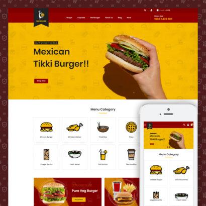 Wowburg - Burger Store Prestashop Theme