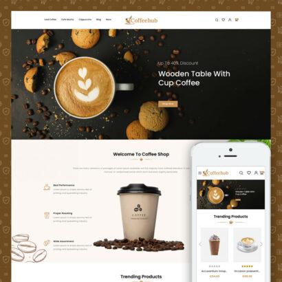 Coffeehub - Coffee Store Prestashop Theme