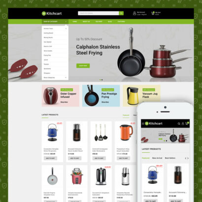 Kitchcart - kitchen Store Prestashop Theme
