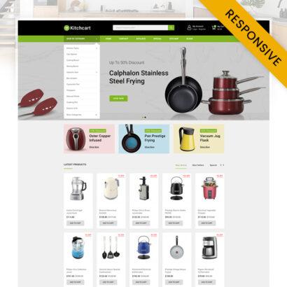 Kitchcart - Kitchen Appliances Store Opencart Theme