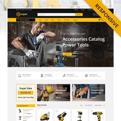 ToolsPart - Best Tools WooCommerce Responsive Theme