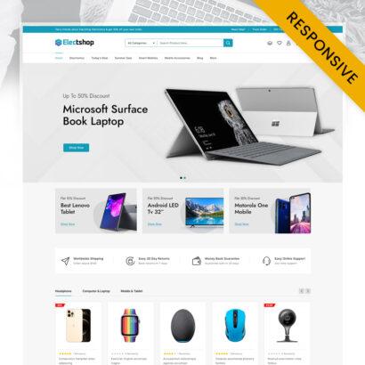 Electshop - Electronics and Digital Store Prestashop Theme