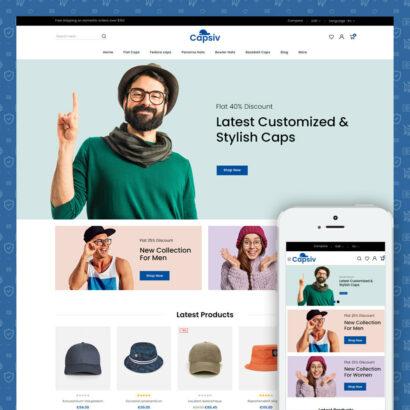 Capsiv - Caps & Hats Store Prestashop Theme