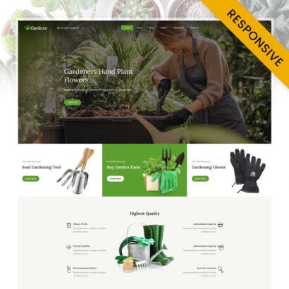 Gardcro - Garden Equipment Store WooCommerce Responsive Theme