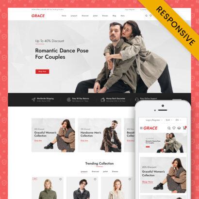 GRACE – Minimal Fashion Store Prestashop Responsive Theme