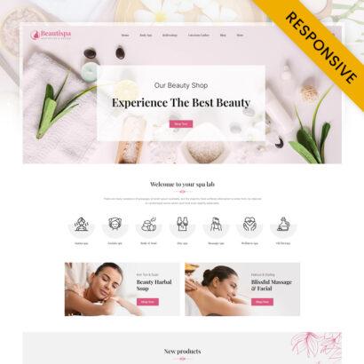 Beautispa - Health & Beauty Store Prestashop Responsive Theme