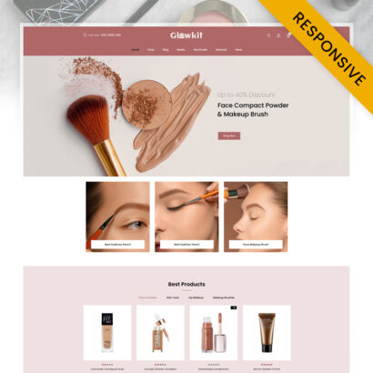 Glowkit - Beauty Store WooCommerce Responsive Theme