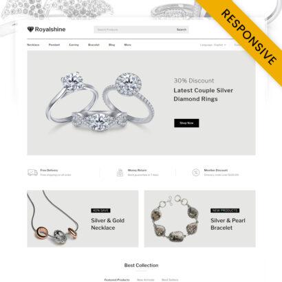 RoyalShine - Jewelry Store WooCommerce Responsive Theme