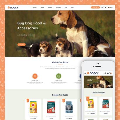 Dogcy - Pets Store Prestashop Theme